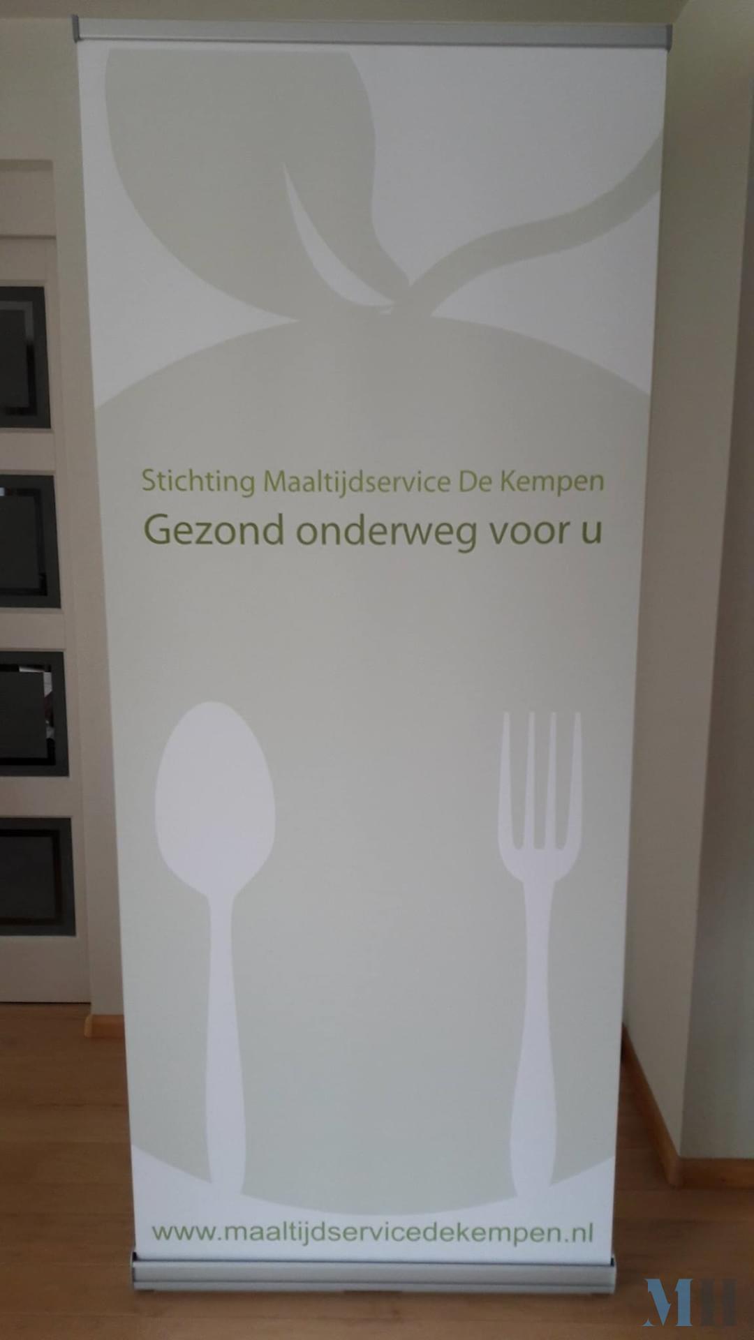 Rolbanner Stichting Maaltijdservice De Kempen