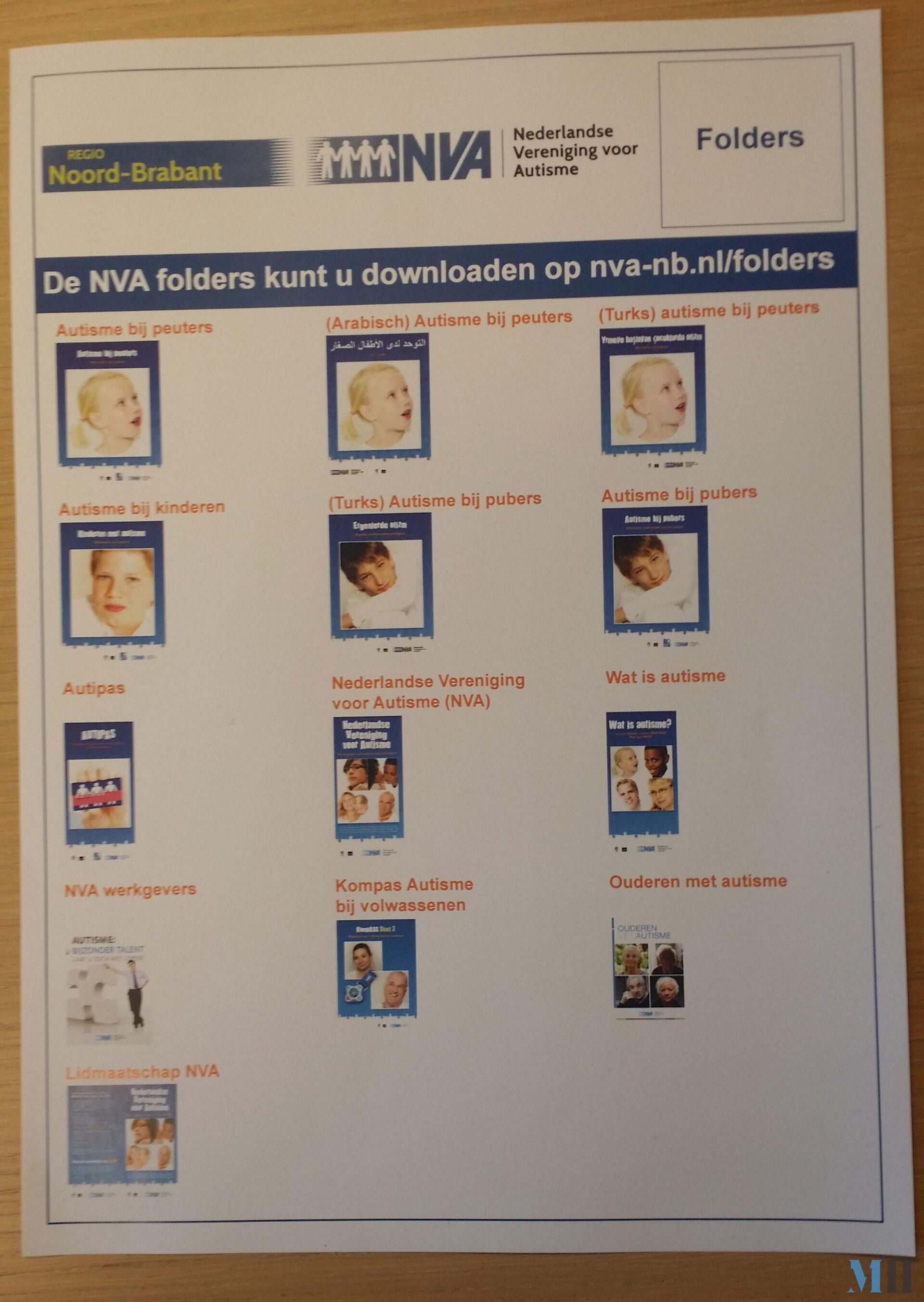 Poster folders NVA Noord-Brabant