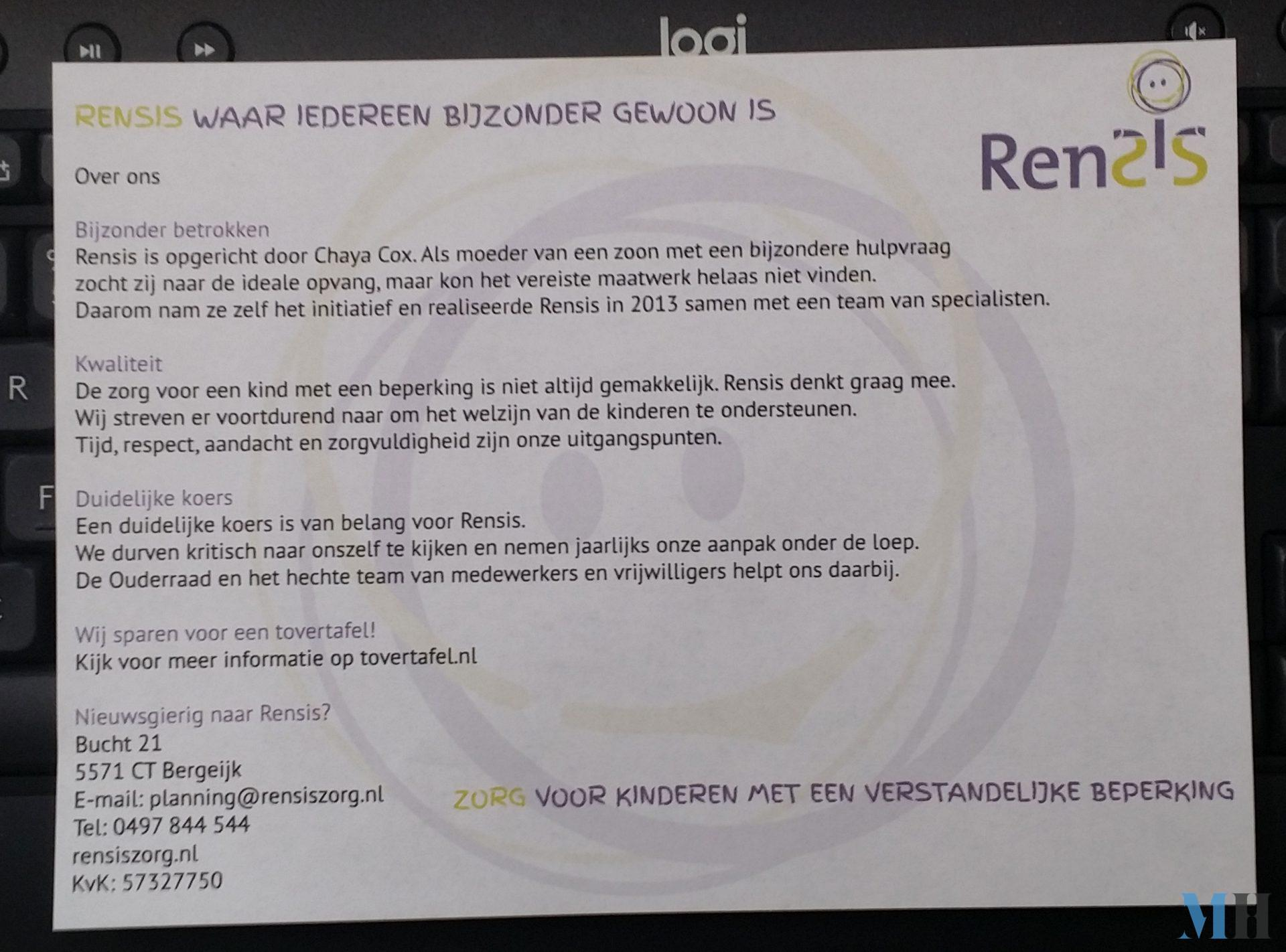 Flyer Rensis