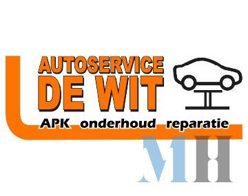 Idee logo Autoservice de Wit